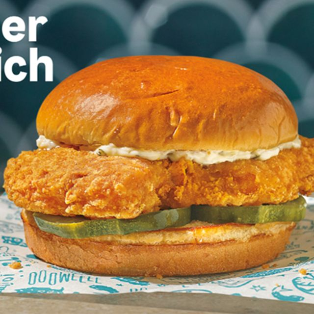 popeyes louisiana kitchen cajun flounder fish sandwich