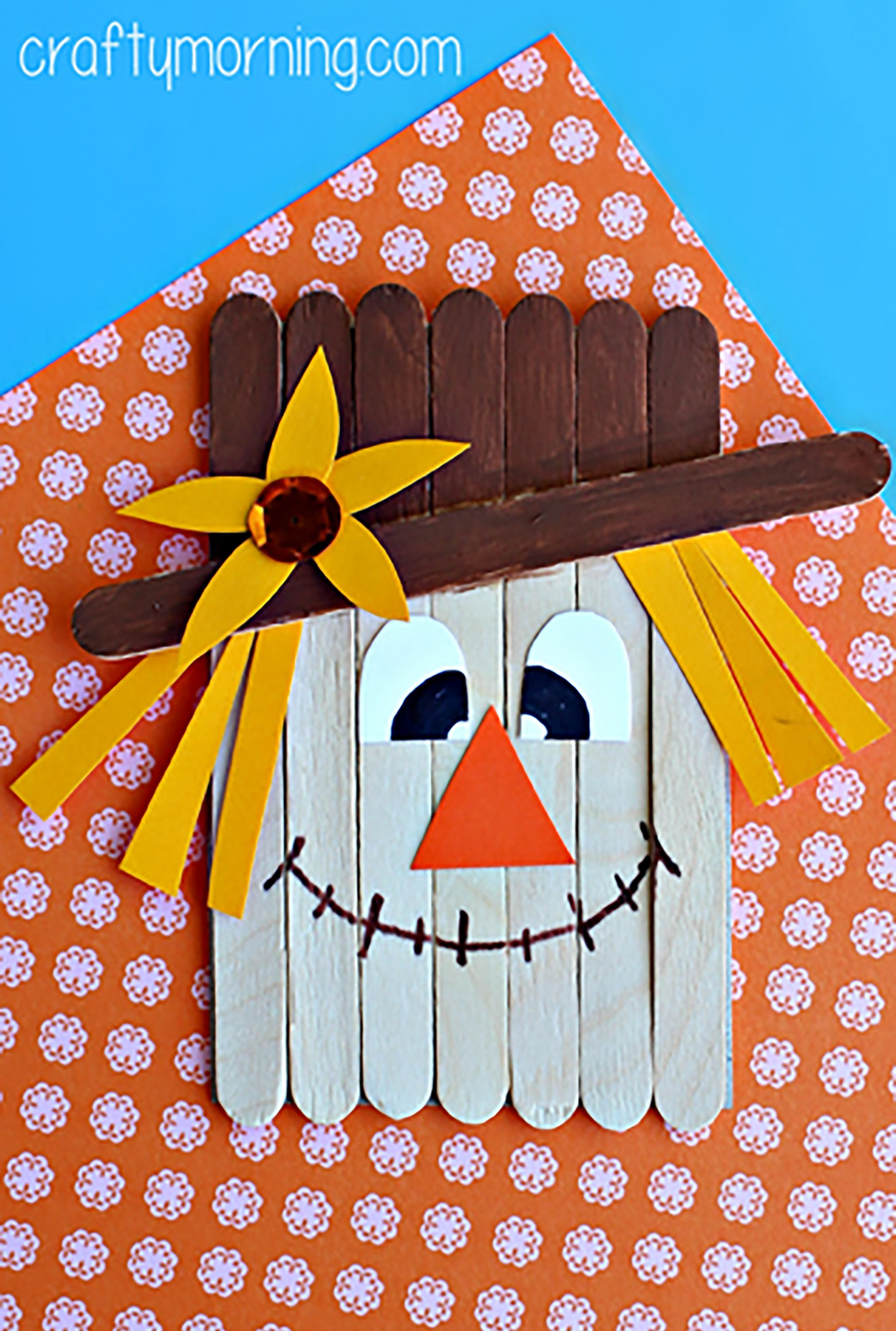 24 Easy Fall Crafts Fun Ideas For Autumn Crafts