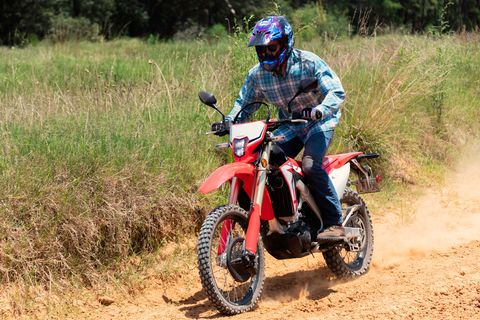 Honda Crf450l Review Honda Crf450l Is A Street Legal Dirt Bike