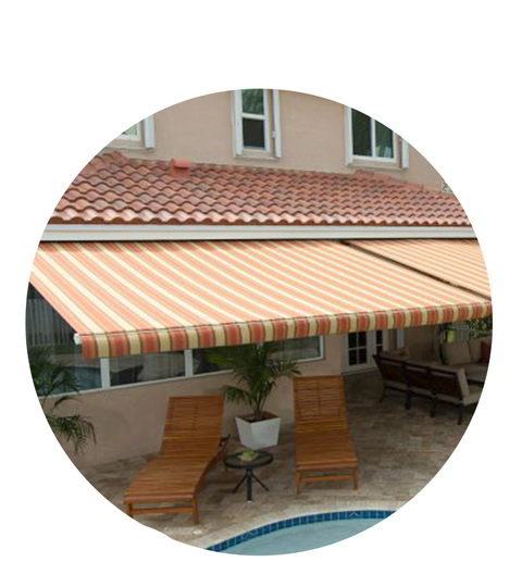 the house the good housekeeping seal built - SunSetter Motorized Awnings