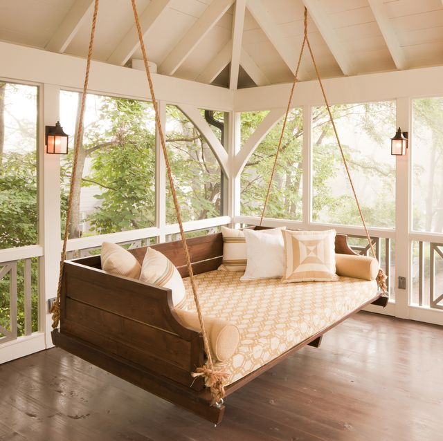 16 Porch Swing Plans Diy Porch Swing