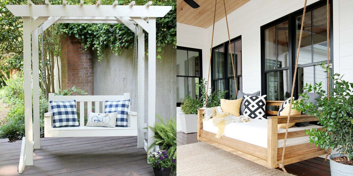 20+ DIY Porch Swings to Add Suspended Style to Your Home