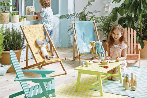 Vacaciones infantiles: Muebles de exterior para niños