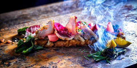 Food, Cuisine, Dish, Ingredient, Garnish, Finger food, Mediterranean food,