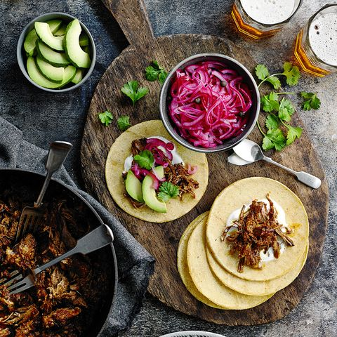 Slow cooked pork pibil