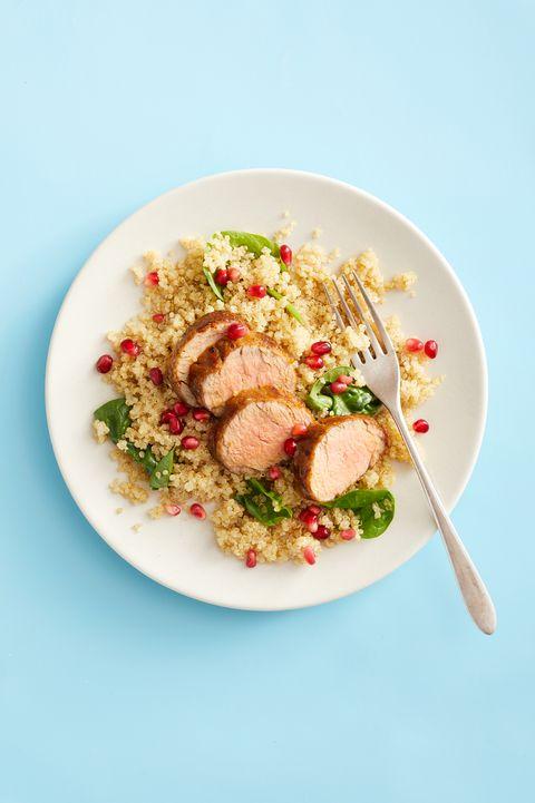 Pork Tenderloin with Rice Pilaf - Best Quinoa Recipes