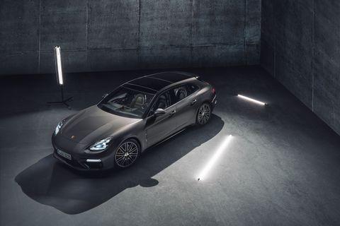 Land vehicle, Car, Luxury vehicle, Vehicle, Automotive design, Black, Porsche, Porsche panamera, Supercar, Performance car,