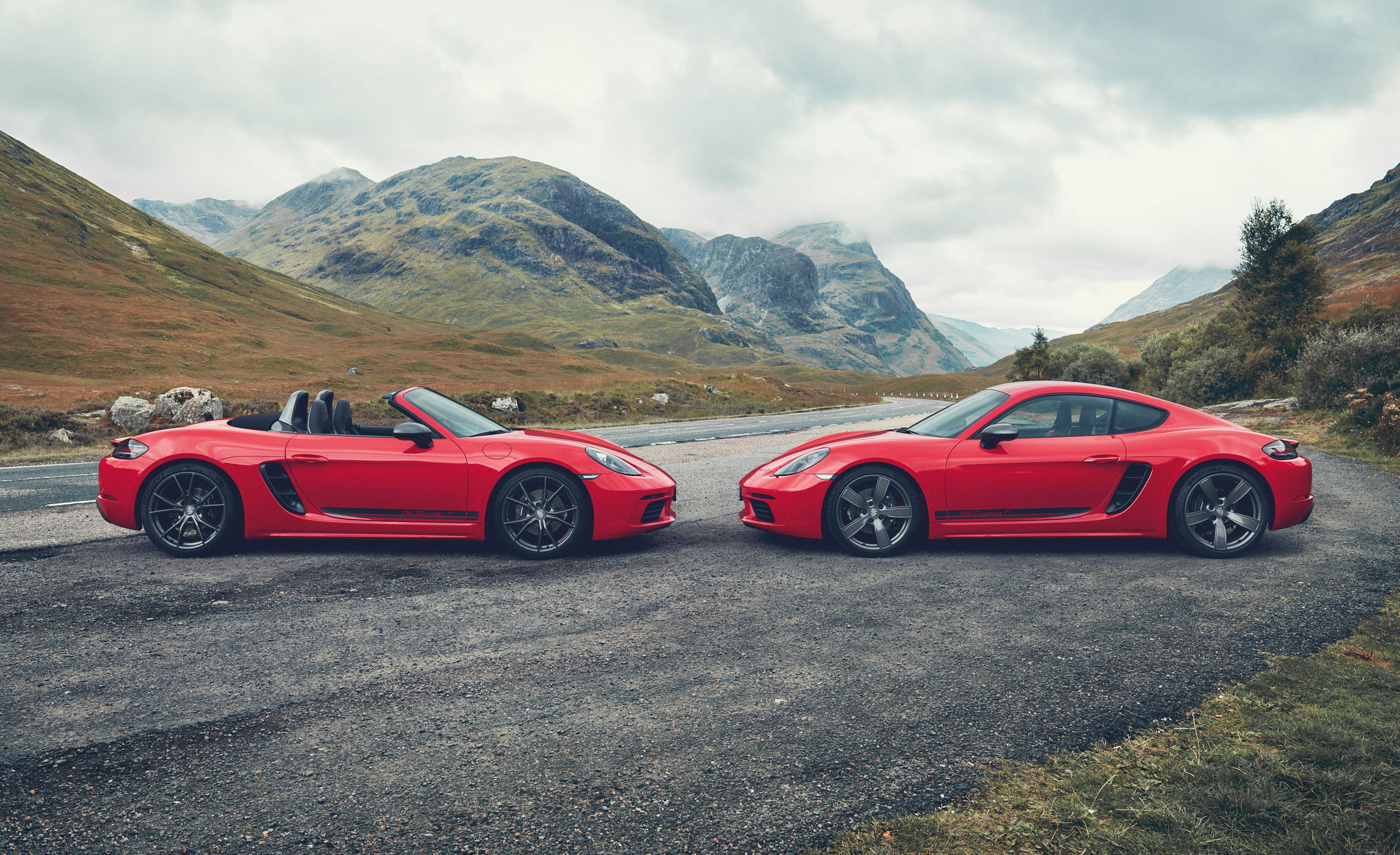 2020 Porsche 718 Boxster T and 718 Cayman T Are for Purists