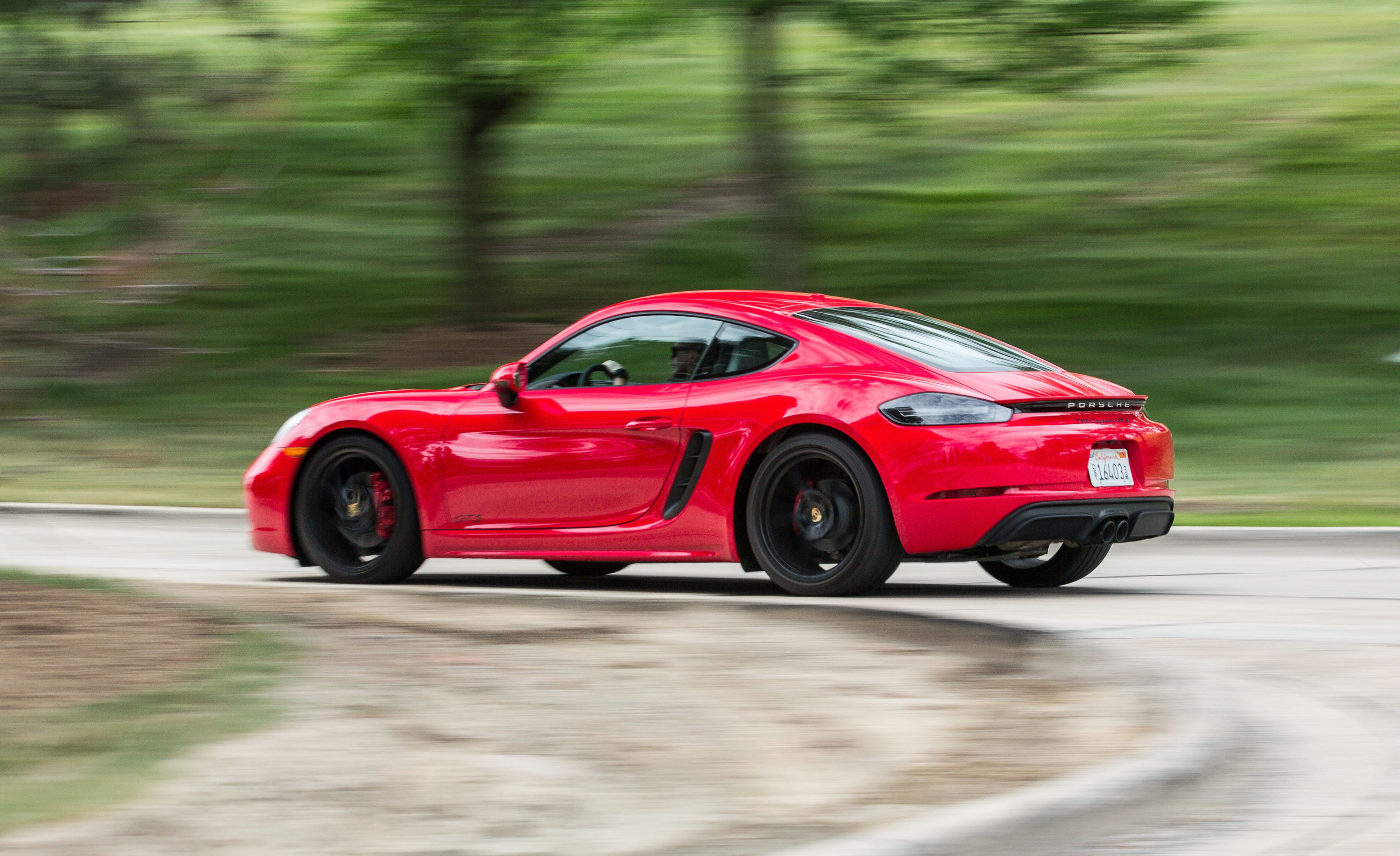 2018 Porsche 718 Boxster And Cayman Gts Performance Models