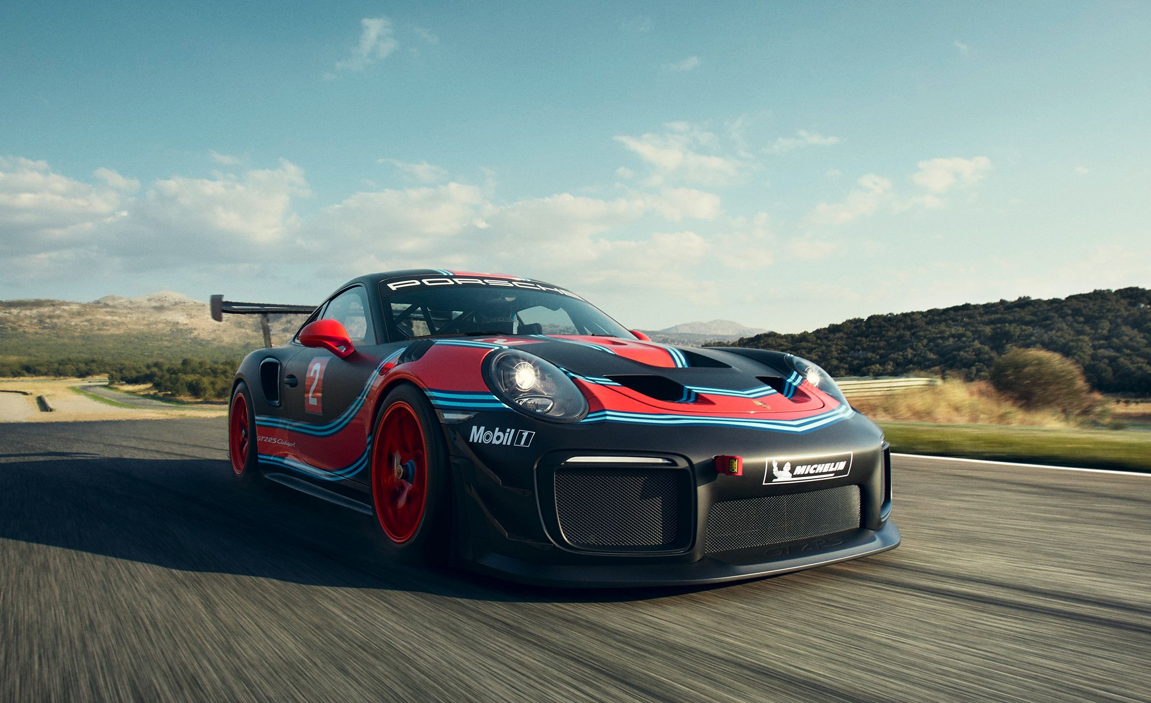 Porsche 911 GT2 RS Clubsport , 700,HP Customer Race Car