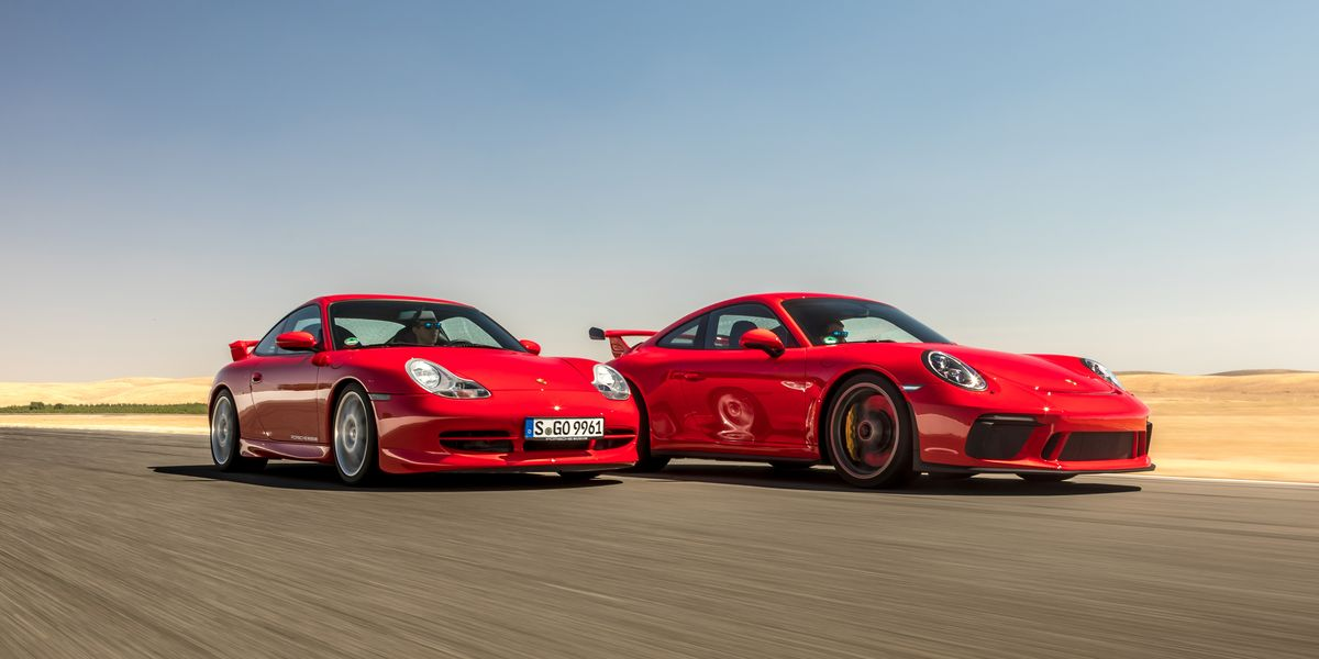 Take a Look Back at 20 Years of the Porsche 911 GT3