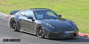 Nuevo Porsche 911 GT3 Touring Package cazado
