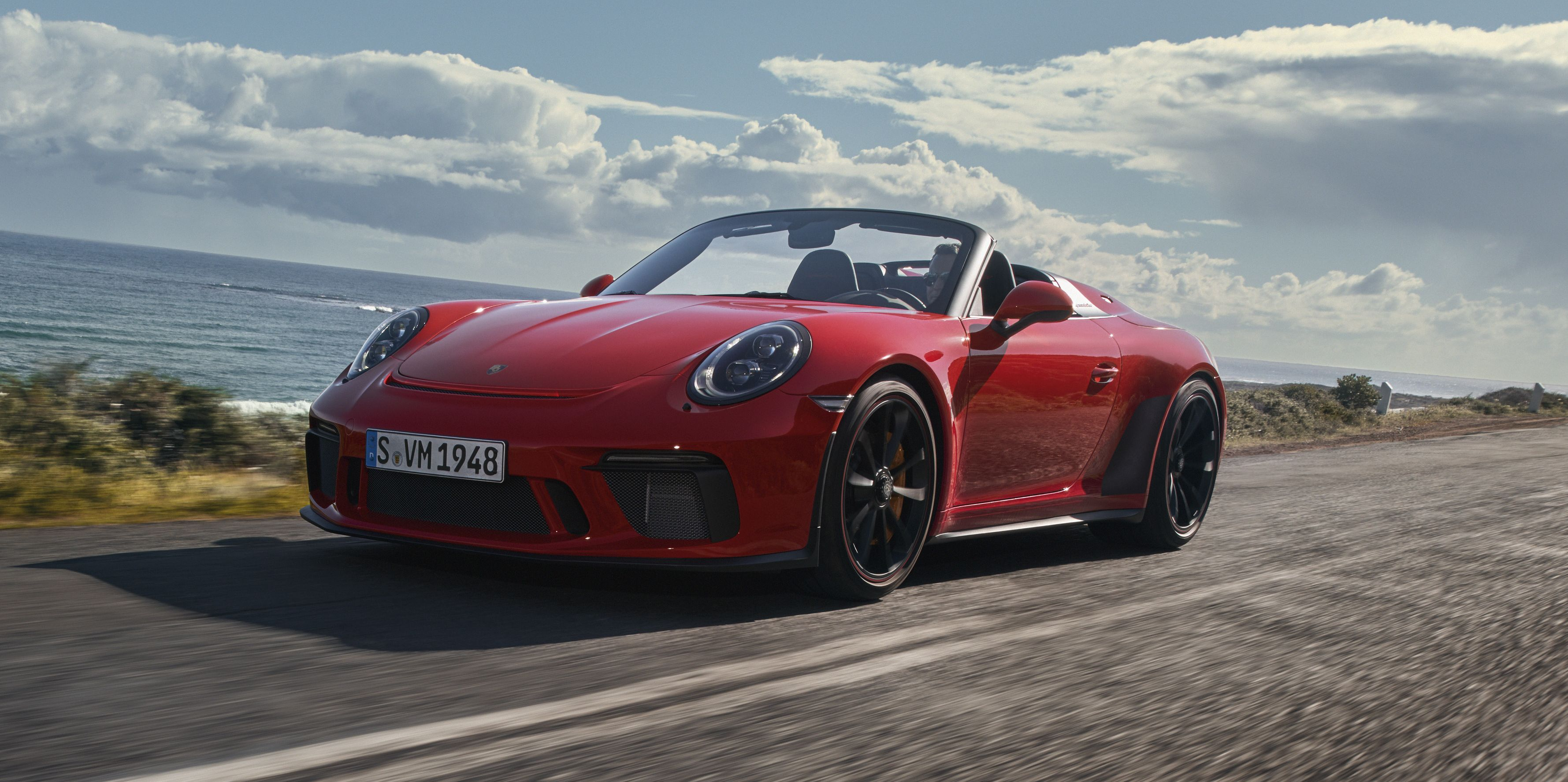 Porsche's 911 Speedster Is Gloriously Real and Not for the Likes of You, Peasant