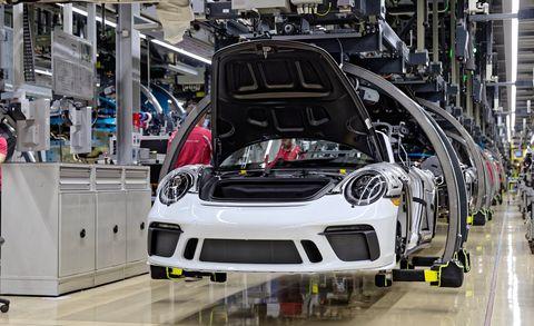 Porsche 911 Speedster in Production, 2019