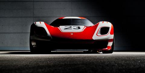 Porsche 917 Living Legend Concept in Photos