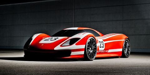 Porsche Releases New Photos of the Spectacular 917 Living Legend Concept