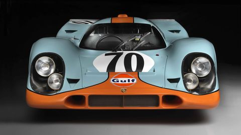 Steve McQueen Porsche 917K From Le Mans Movie Is Now a Brumos Collection Star