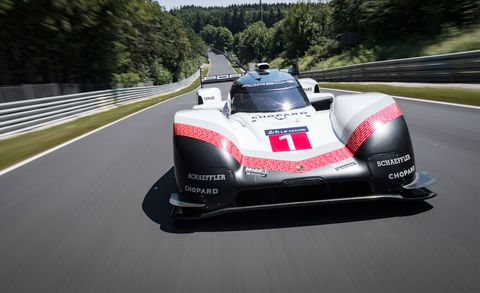How The Porsche 919 Hybrid Evo Made Its Record Breaking Nürburgring Lap Time