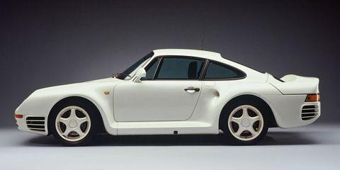 Land vehicle, Vehicle, Car, Porsche 959, Supercar, Sports car, Alloy wheel, Porsche, Ruf ctr2, Coupé,