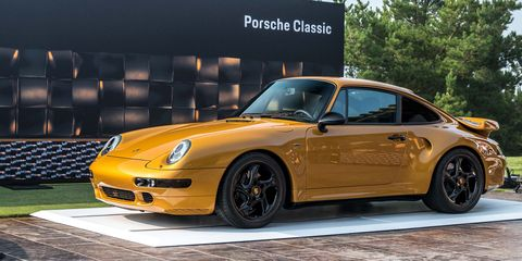 Porsche's Brand-New 993 Is a Tribute to Internal Combustion