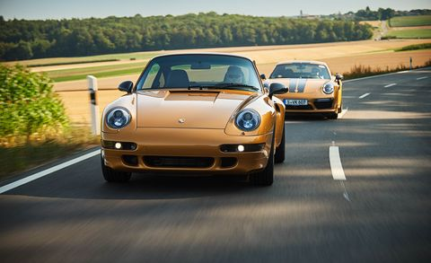 Porsche 993 Turbo S Project Gold