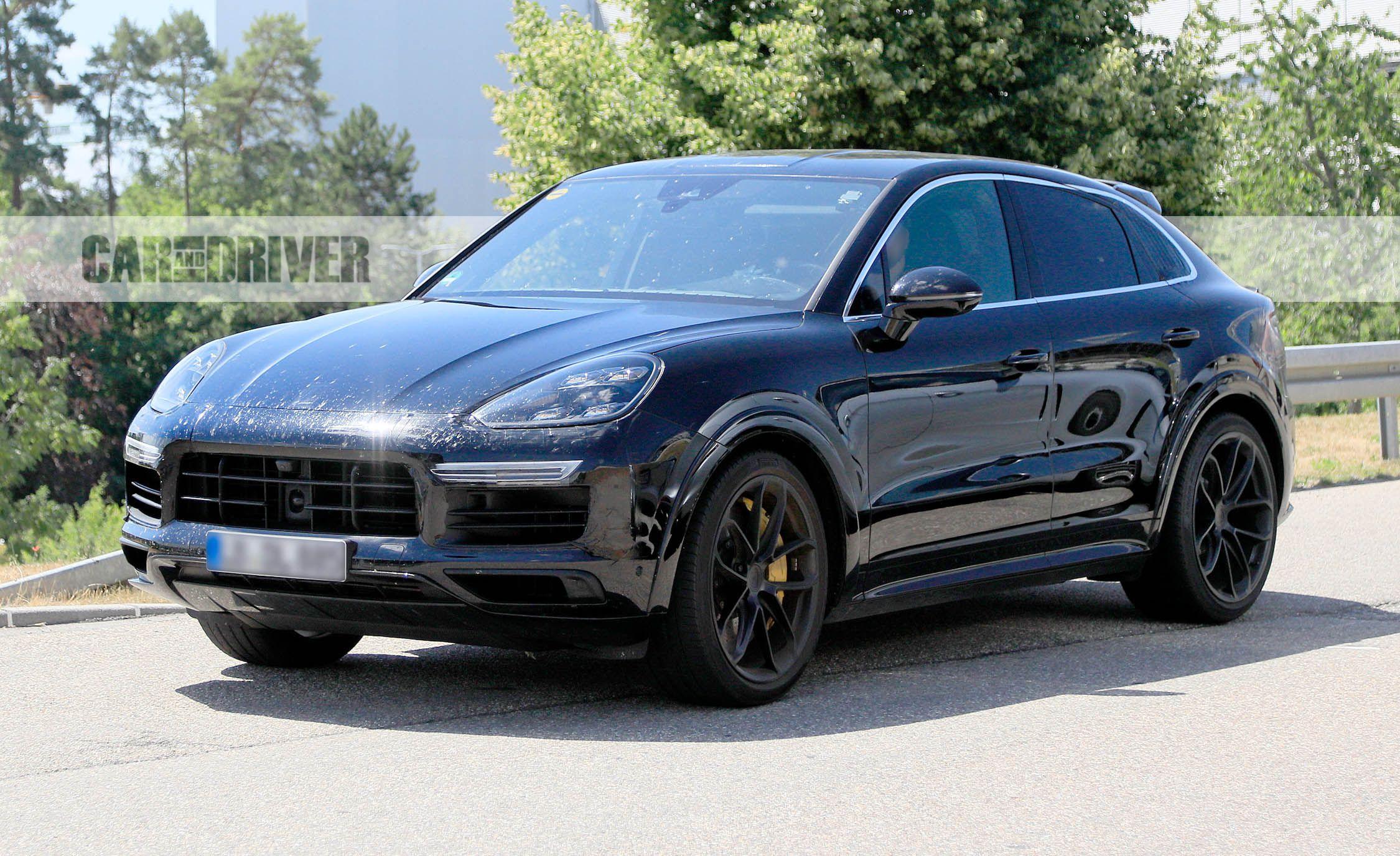 2020 Porsche Cayenne Coupe Version Design Specs >> 2020 Porsche Cayenne Coupe Spied Yep A Fastback Version Is Coming