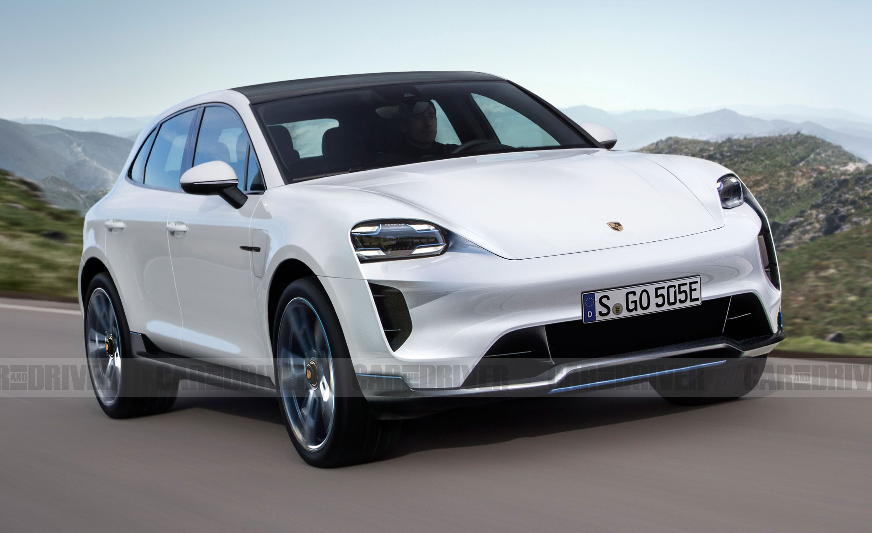 Porsche Macan Crossover Will Be Fully Electric in Next