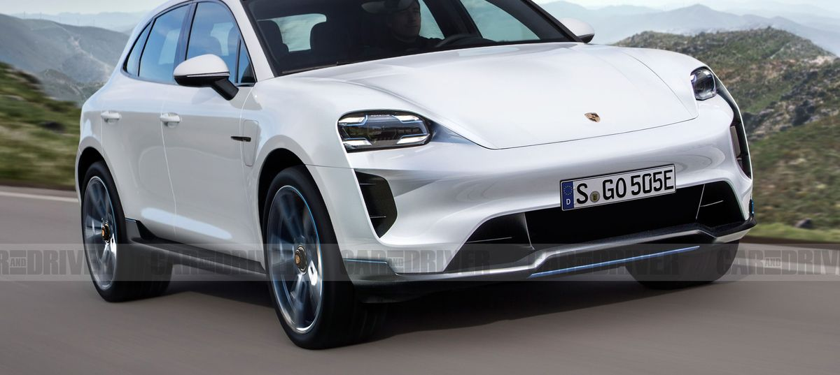 Porsche Macan Crossover Will Be Fully Electric in Next ...
