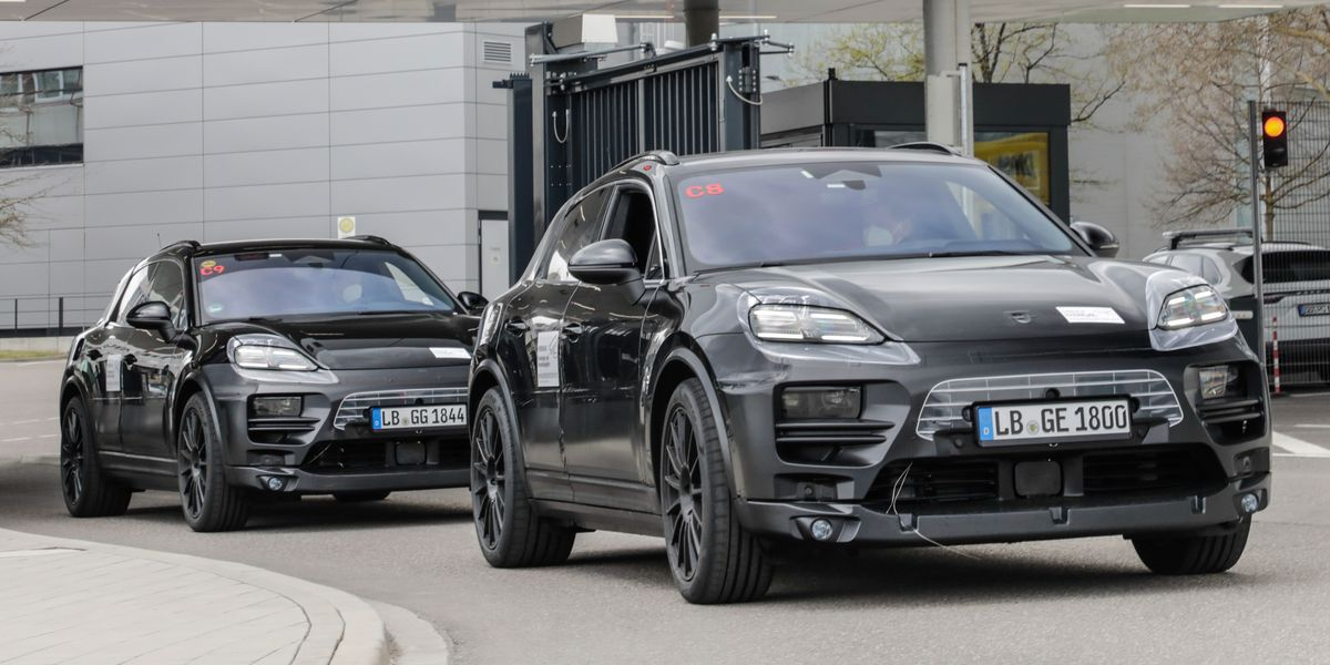 Porsche Macan EV Will Arrive in 2023 with More Range Than Taycan