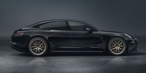 Porsche Panamera Is 10 Years Old, So Here's a Special Edition