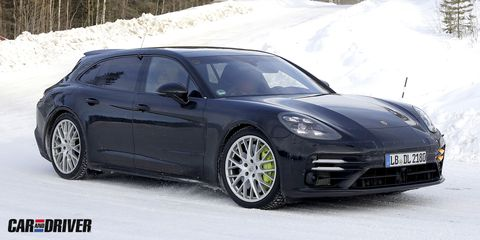 Nuevo Porsche Panamera Sport Turismo cazado