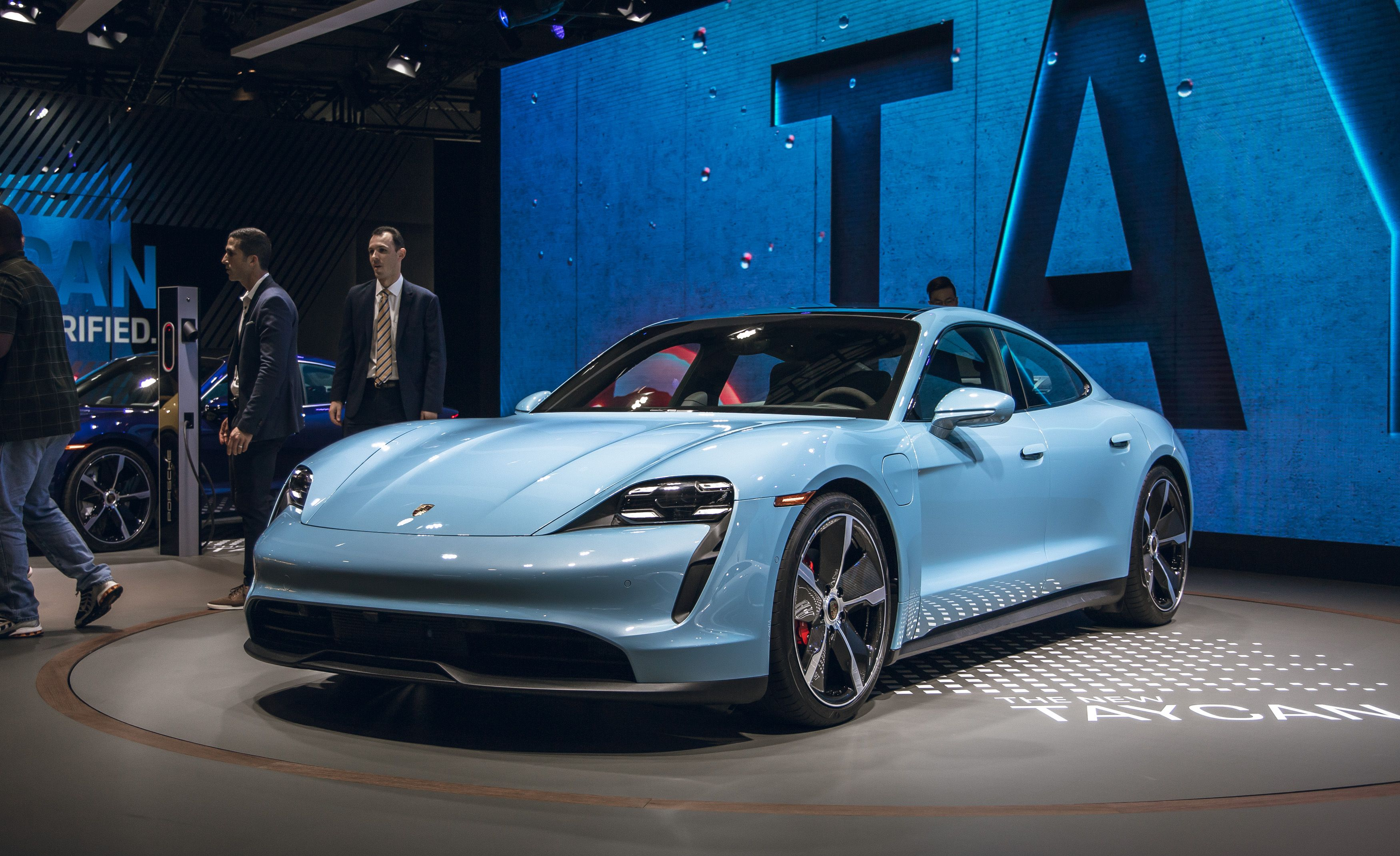 Porsche Taycan Ev Adds Cheaper 4s Variant