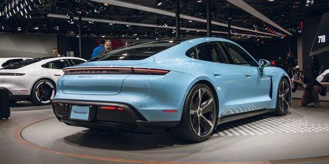 View Photos of the 2020 Porsche Taycan 4S
