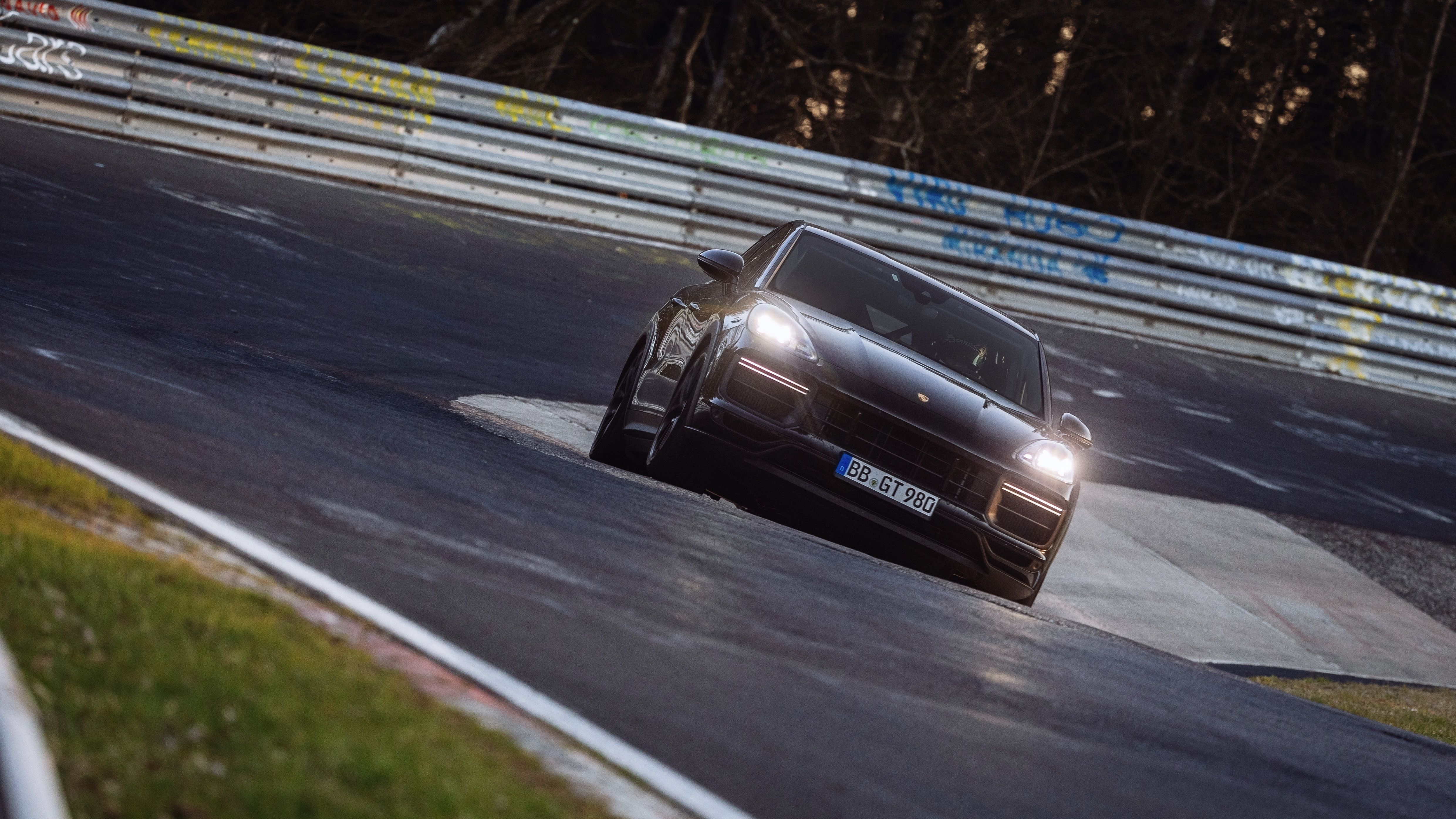 Porsche's New Cayenne Turbo Variant Just Broke the Nürburgring Lap Record for SUVs