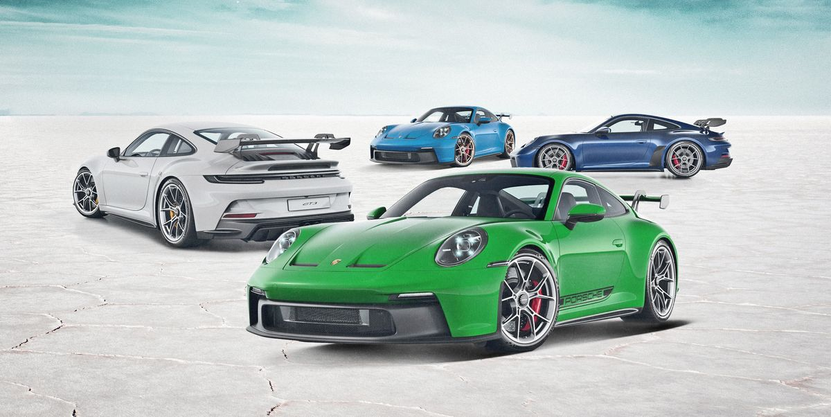 How We'd Spec It: 2022 Porsche 911 GT3s, All With the Manual