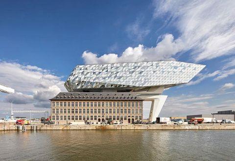La port house di Zaha Hadid ad Anversa