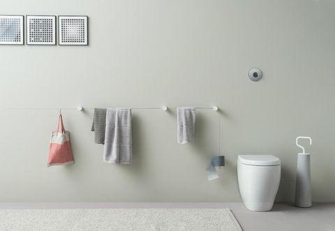 Arredo Bagno Porta Asciugamani.Porta Asciugamani E Porta Carta Igienica Di Design