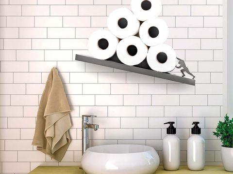 Baldas para papel higiénico