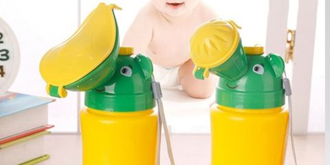 Plastic bottle, Product, Yellow, Plastic, Water bottle, Toy, Vegetable juice, Bottle,