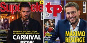 Orlando Bloom en 'Carnival Row' y Máximo Huerta' en 'A partir de hoy'