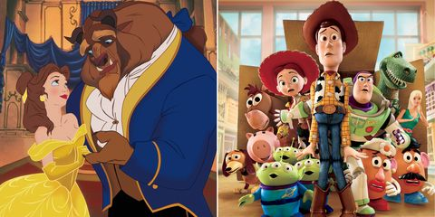 La bella y la bestia Toy Story 3
