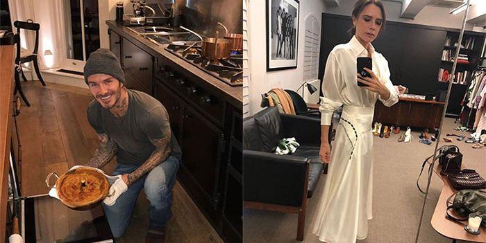 La casa de David y Victoria Beckham vista en Instagram