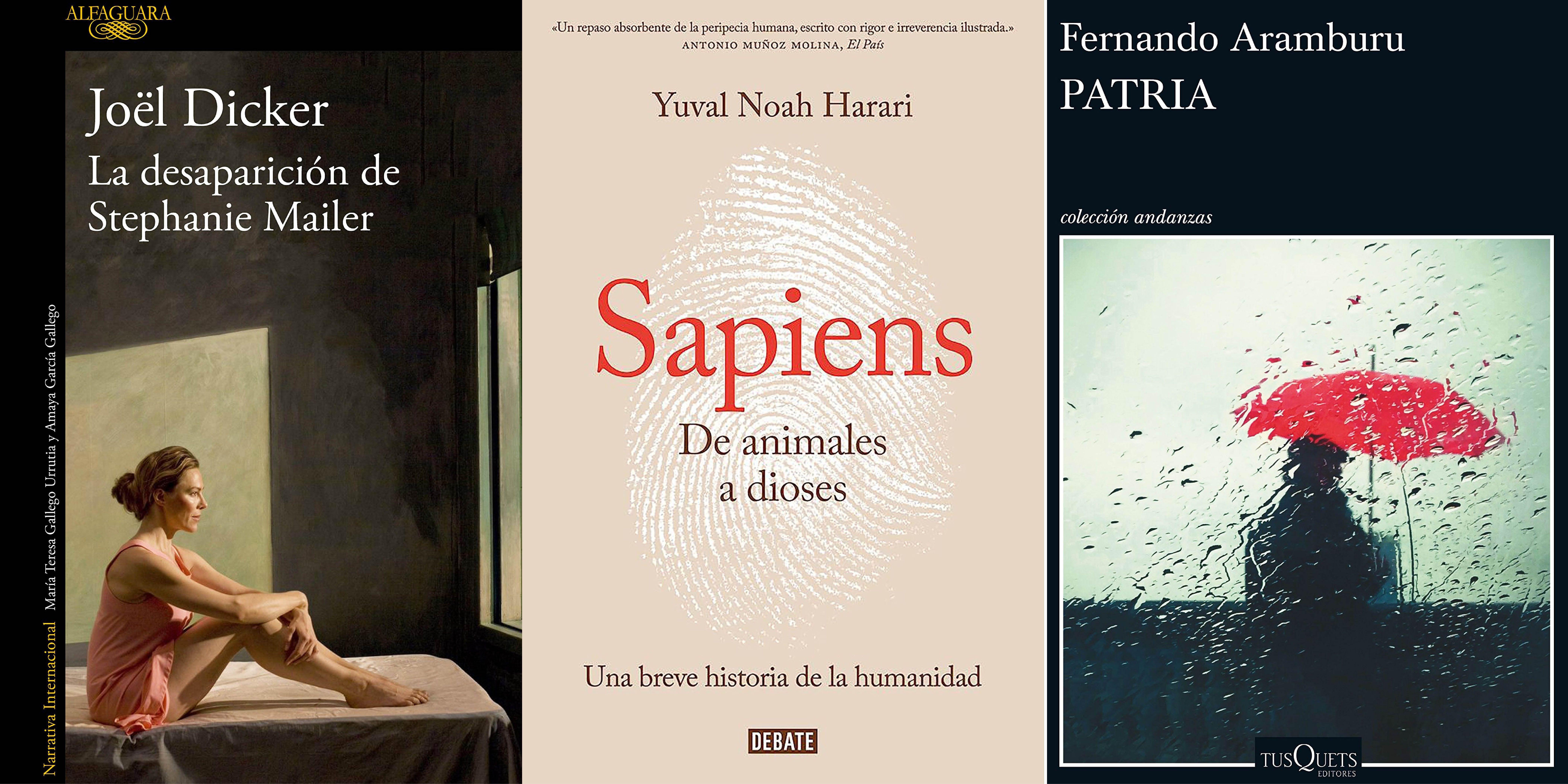 Estos son los 15 libros más vendidos en Amazon ahora mismo