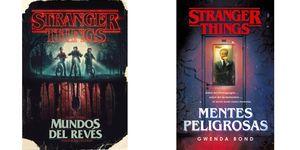Mundos del revés y Mentes Peligrosas libros Stranger Things