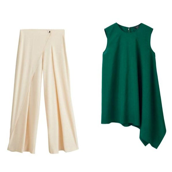 Clothing, Green, Dress, Outerwear, Sleeve, Blouse, T-shirt, Trousers,