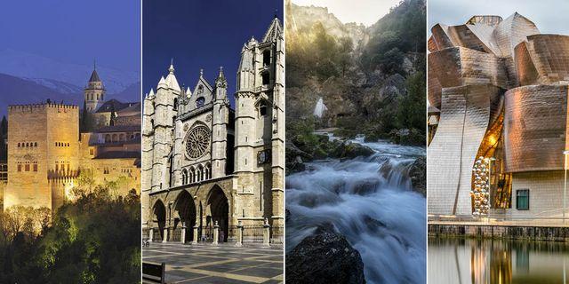 52 monumentos más importantes españa