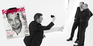 Alejandro Amenábar en la portada de octubre de FOTOGRAMAS