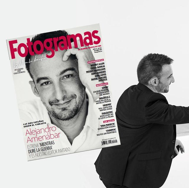 Alejandro Amenábar protagoniza nuestra portada de octubre