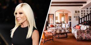 Donatella Versace compra una mansión frente al Lago Maggiore