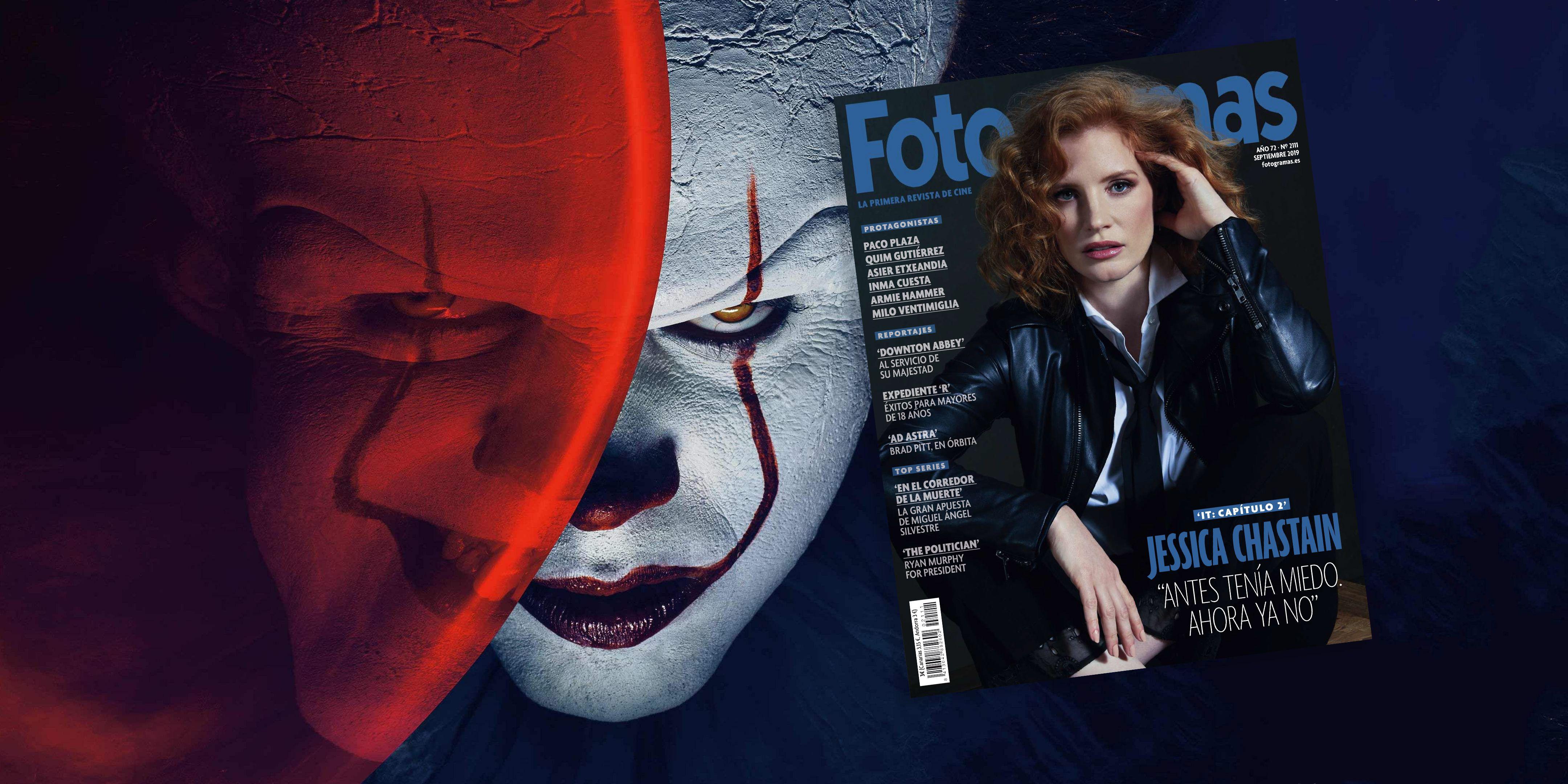 Jessica Chastain pierde el miedo en nuestra portada de septiembre